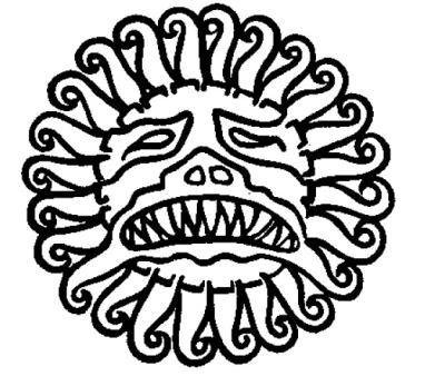 Mặt nạ của Mithras — hình ảnh Mặt trời của người Ba-tư