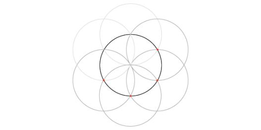 Dividing a circle into 12