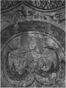 Số hai là một yếu tố căn cốt trong tính biểu tượng của tiên nữ hai đuôi (theo một bức vẽ La-mã)