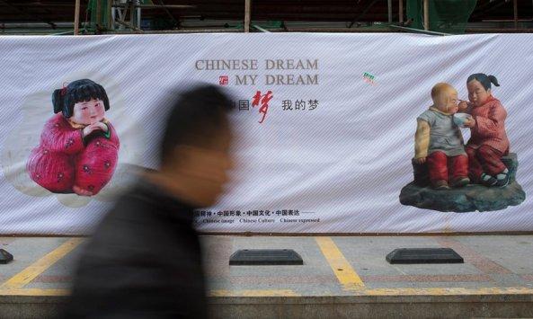 'Giấc mộng Trung-quốc' là khẩu hiệu đặc trưng của Chủ tịch Tập Cận Bình (Ảnh: Bloomberg)